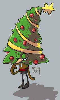 Oh... Christmas tree. by Matt-Lejeune-Art