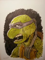 Fifth Turtle by graphicus-art