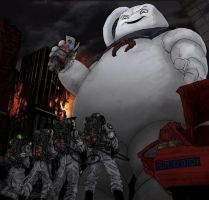 The Big Guy - Ghostbusters by T-RexJones