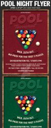 Pool Tournament Flyer Template by Hotpindesigns