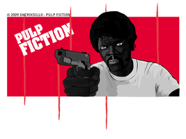 Pulp Fiction - Samuel Jackson by sheriksillo