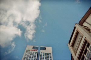 look up to the skies and see by slumbrous