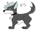 Dog Adopt (open) by Shadow--Force