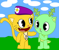 Whiskers And Timothy her new friend :D -RQ- by PattyHtf16