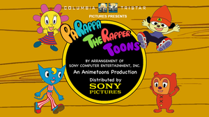 PaRappa Toons Title Card Opening Part 2 by MamonStar761