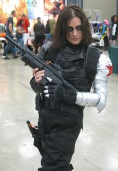 Bucky/The Winter Soldier - Austin ComicCon 2014 by le-letha