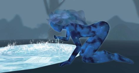 ICE projects Teal freenote Gift of the Goddess by InWorldzArtBlog
