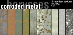 Corroded metal by borysses