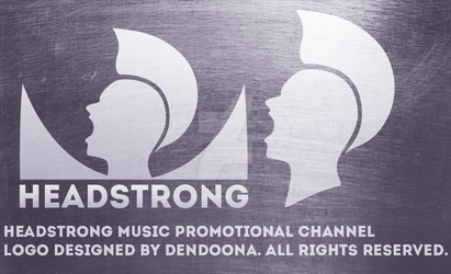 Headstrong youtube logo design by dendoona