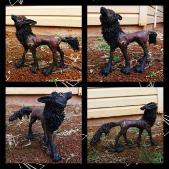 Kreetcher of Harvest Sculpture For Sale by starwolf303