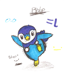 Piplup by Zehdils