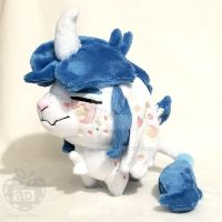 OC UniDragon Goat Mock Pokedoll Plush by AppleDew