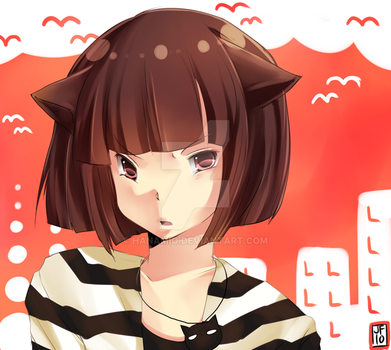3rd Prize - Ayaka by Hanamio