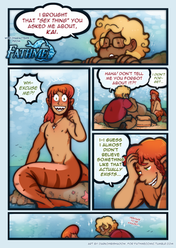 That 'Sex Thing' | For Fathme Comic | Page 1 by DarkChibiShadow
