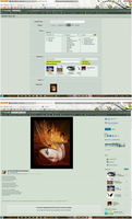 DeviantArt Submission Page Suggestions by mamasaurus