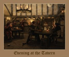 Evening at the Tavern by thd777
