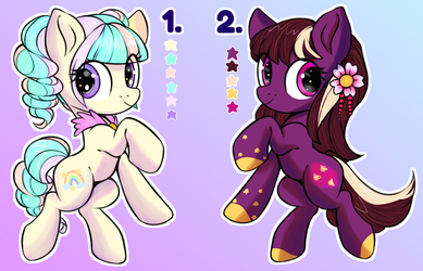 Pony Collab Adopts (OPEN) by Naughty-Savage