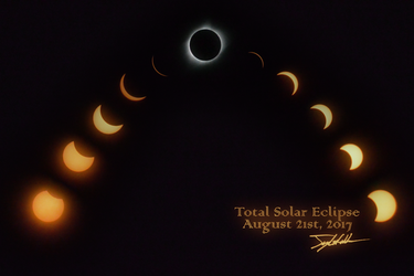 Total Solar Eclipse 2017 by WhenPigsFry