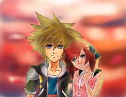 Sora x Kairi by demiselight88