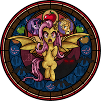 Coloring Contest Entry: Flutterbat I Winner I by Crystalchan2D