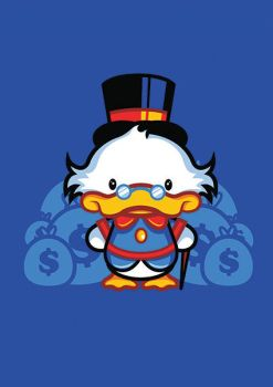 Hello Scroogie T-shirt Design by alsnow