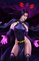 Raven .NSFW opt. by martaino