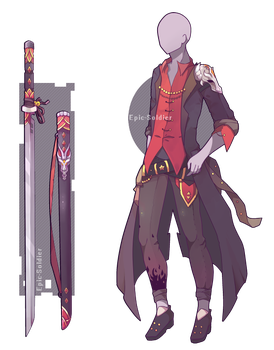 Custom outfit and weapon commission by Epic-Soldier