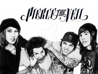Pierce The Veil - Having Fun by I-Draw-Bands