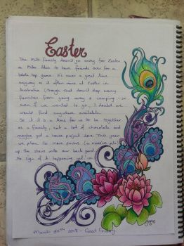 Lotus/Easter by astraldreamer