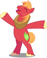 Vector #546 - Big McIntosh #5 by DashieSparkle