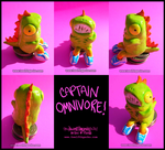 Seated Captain Omnivore by Twelfthgecko