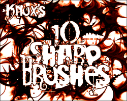 Knux's Sharp Brush Pack by Knux57