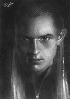 Legolas black and white PSC by Ethrendil