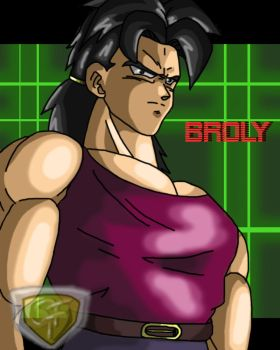 broly as a good guy by ShynTheTruth