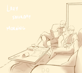 Lazy Saturday Morning at 11AM by PitchySoldier