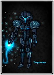 Dark  Samus Remake by ninpeachlover