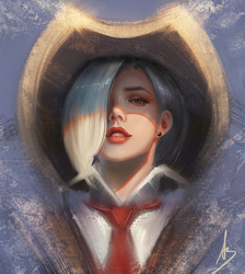 Ashe by trungbui42