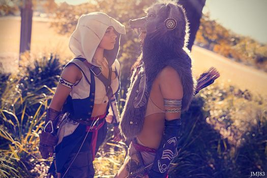 Assassin's Creed III Genderbend Conner Kenway/Rato by JMJ83