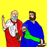 Plato and Aristotle by ethicistforhire