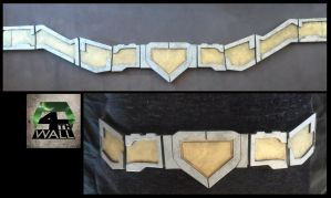 Superman Injustice Belt by 4thWallDesign