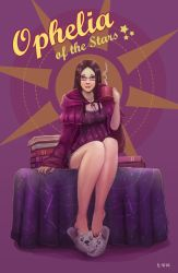 Ophelia Pinup by B-side7715