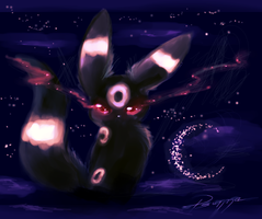 Umbreon Zodiac by FinsterlichArt