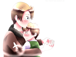 APH: Give Me a Hug... by Field-Of-Roses