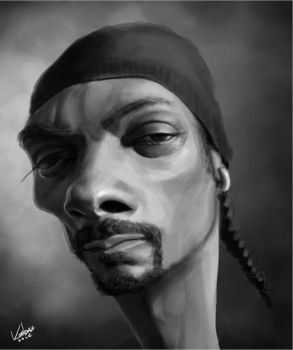 Snoop Dogg... er, Lion by KendallHaleArt