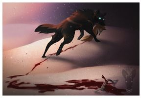a path of blood by growling-deer