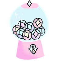 GEM GACHA || *OPEN* BOTH POINTS AND PAYPAL by VeryYamYam