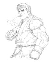 Ryu - Street Fiighter by Mick-cortes