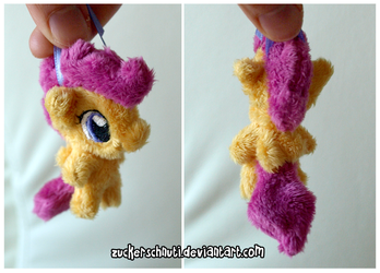 Scootaloo Keychain by zuckerschnuti