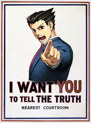 Phoenix Wright wants YOU... by Asclepius89