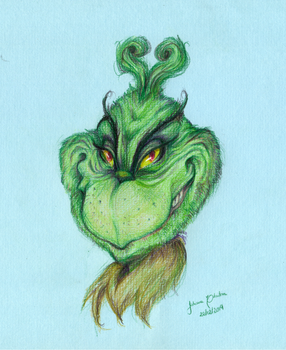 Mr Grinch by juhcashew